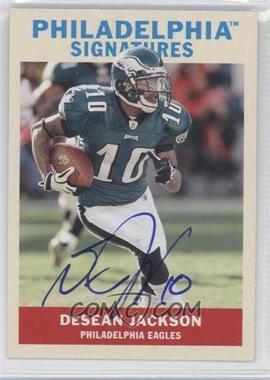 2009 Upper Deck Philadelphia - Signatures #PS-DJ - DeSean Jackson