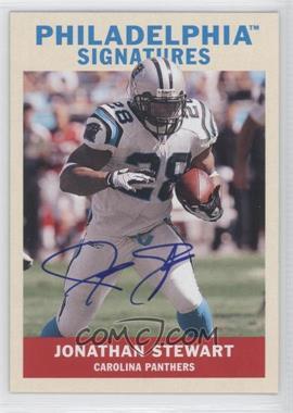 2009 Upper Deck Philadelphia - Signatures #PS-JS - Jonathan Stewart