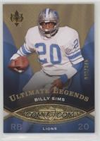 Ultimate Legends - Billy Sims #/375