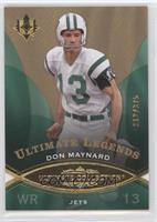 Ultimate Legends - Don Maynard #/375
