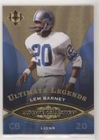 Ultimate Legends - Lem Barney #/375