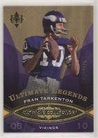 Ultimate Legends - Fran Tarkenton #/375