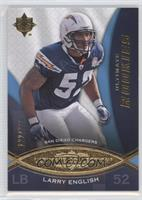 Ultimate Rookies - Larry English #/375