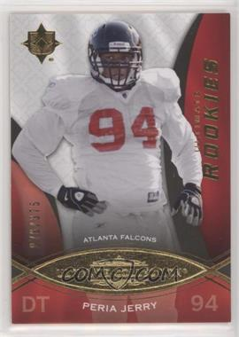 2009 Upper Deck Ultimate Collection - [Base] #189 - Ultimate Rookies - Peria Jerry /375
