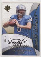 Ultimate Rookie Signatures - Matthew Stafford #/99