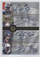 Aaron Curry, James Laurinaitis, Brian Cushing, Larry English /25