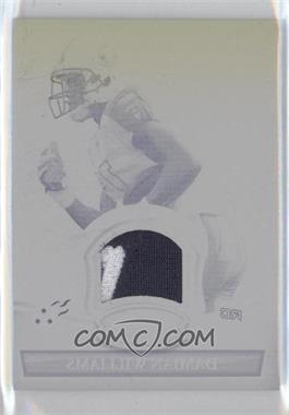 2010 Bowman Sterling - Relics - Printing Plate Black #BSR-DW - Damian Williams /1