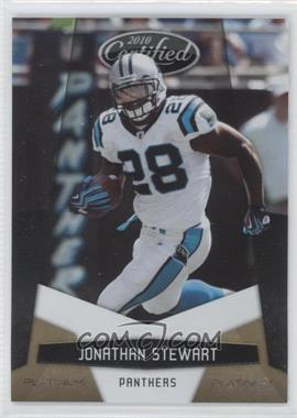 2010 Certified - [Base] - Platinum Gold #20 - Jonathan Stewart /10