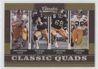 Mel Blount, Rod Woodson, Terry Bradshaw, L.C. Greenwood /100