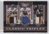Deion Sanders, Mel Blount, Rod Woodson /25