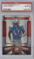 Jahvid Best [PSA 10 GEM MT] #/999