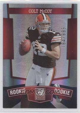 2010 Donruss Elite - [Base] #190 - Colt McCoy /999