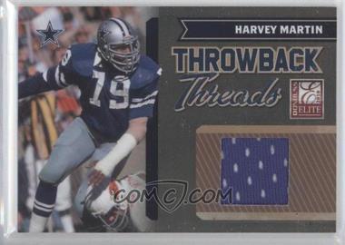 2010 Donruss Elite - Throwback Threads #8 - Harvey Martin /200