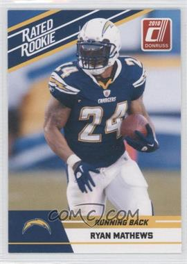 2010 Donruss Rated Rookie - Box Set [Base] #88 - Ryan Mathews