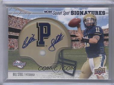 2010 NCAA Sweet Spot - [Base] - Rookie Signature Variations [Autographed] #117.1 - Bill Stull /250