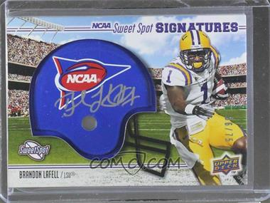2010 NCAA Sweet Spot - [Base] - Rookie Signature Variations [Autographed] #149 - Brandon LaFell /75