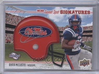 2010 NCAA Sweet Spot - [Base] - Rookie Signature Variations [Autographed] #159 - Dexter McCluster /200