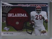 Billy Sims #/50