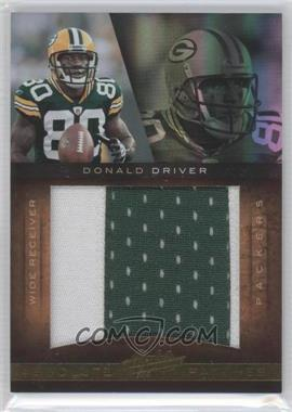 2010 Panini Absolute Memorabilia - Absolute Patches - Spectrum Jumbo Prime #14 - Donald Driver /25