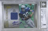 Steve Largent /50 [BGS 8 NM‑MT]