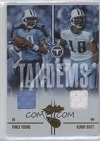 Kenny Britt, Vince Young #/100