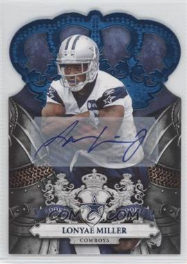 2010 Panini Crown Royale - [Base] - Blue Signatures [Autographed] #166 - Lonyae Miller /50