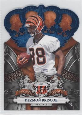 2010 Panini Crown Royale - [Base] - Blue #130 - Dezmon Briscoe /100