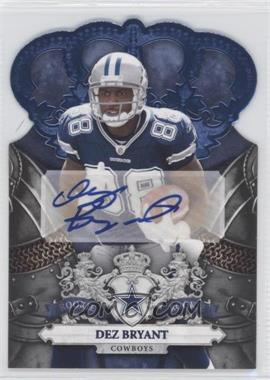2010 Panini Crown Royale - [Base] - Platinum Signatures [Autographed] #227 - Dez Bryant