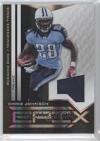 Chris Johnson  50. 2010 Panini Epix - Epix - Threads Black Jerseys Prime ... 6f917683e