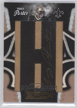2010 Panini Epix - New Orleans Saints Who Dat Lettermen - [Autographed] #1 - Tracy Porter /240