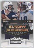 Vince Young, Philip Rivers #/200