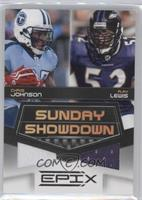 Chris Johnson, Ray Lewis /200