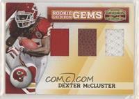 Dexter McCluster #/50