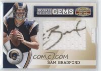 Rookie Gridiron Gems Jumbo Signatures - Sam Bradford #/244