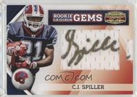 Rookie Gridiron Gems Jumbo Signatures - C.J. Spiller /228
