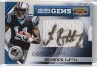 Rookie Gridiron Gems Jumbo Signatures - Brandon LaFell /188