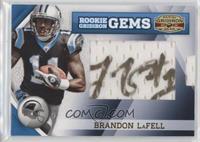 Rookie Gridiron Gems Jumbo Signatures - Brandon LaFell #/188
