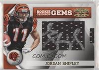 Rookie Gridiron Gems Jumbo Signatures - Jordan Shipley #/177