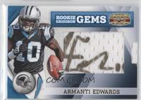 Rookie Gridiron Gems Jumbo Signatures - Armanti Edwards #/183