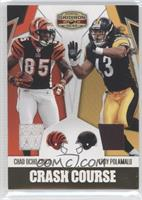 Chad Ocho Cinco, Troy Polamalu #/100