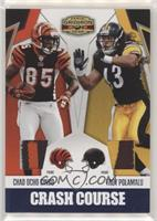 Troy Polamalu, Chad Ocho Cinco [Noted] #/25