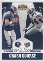 DeMarcus Ware, Eli Manning /25