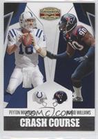 Mario Williams, Peyton Manning /250