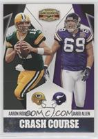 Aaron Rodgers, Jared Allen /250