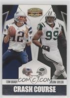 Jason Taylor, Tom Brady #/250