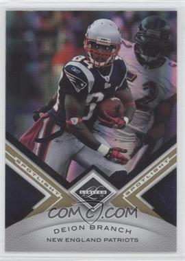 2010 Panini Limited - [Base] - Spotlight Gold #87 - Deion Branch /25