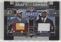 Trent Williams, Russell Okung /25