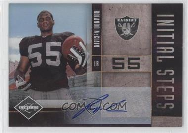 2010 Panini Limited - Initial Steps - Signatures [Autographed] #28 - Rolando McClain /99