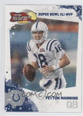 2010 Panini NFL Player of the Day - [???] #POD-PM3 - Peyton Manning