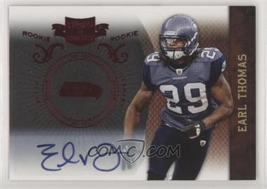 2010 Panini Plates & Patches - [Base] #135 - Earl Thomas III /449